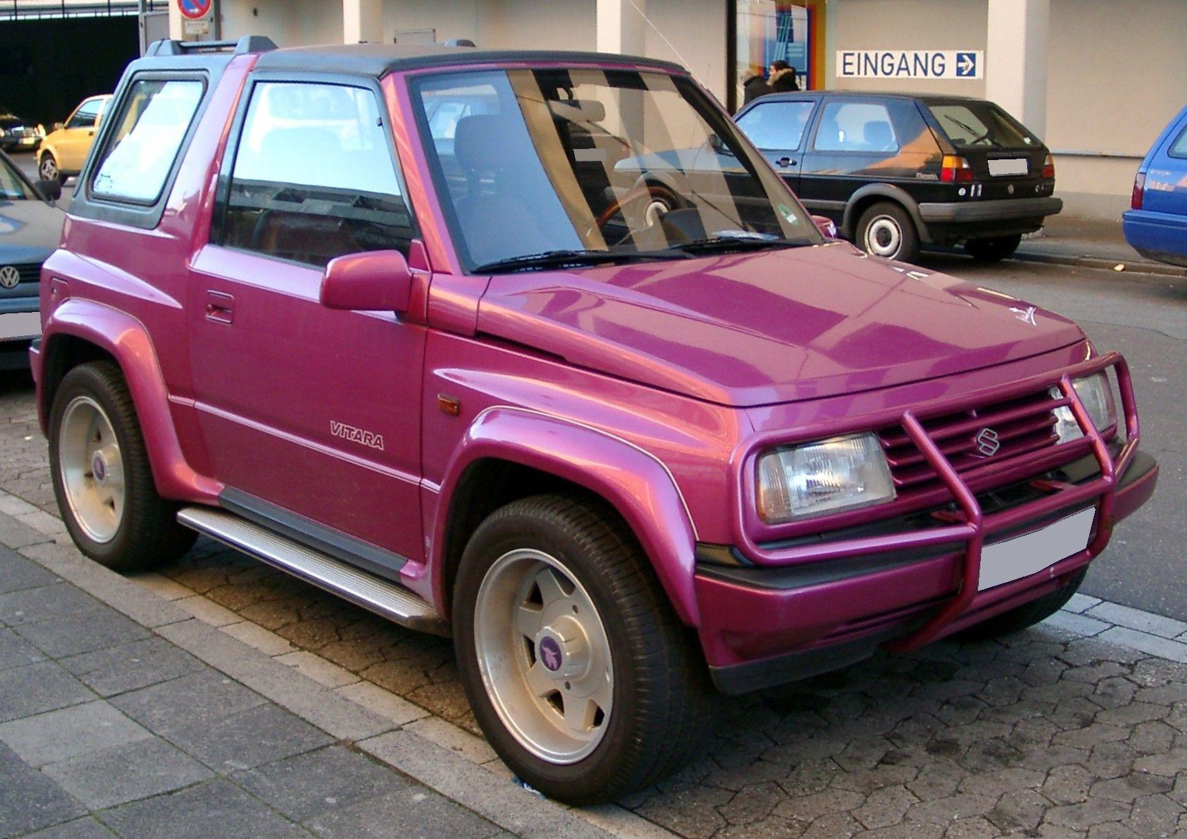 The Old Style Suzuki Vitara