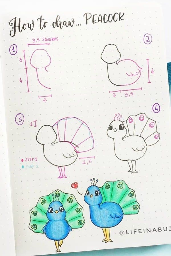 22 Super Fun Blue Bullet Journal Spreads For 2020 – Crazy Laura