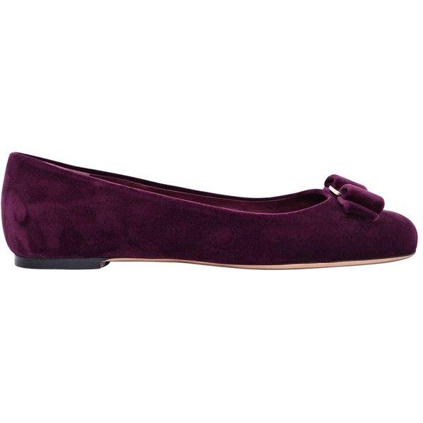 4dd9f5f802ac Salvatore Ferragamo Women 10mm Varina Velvet Ballerina Flats (8.664.825  IDR) ❤ liked