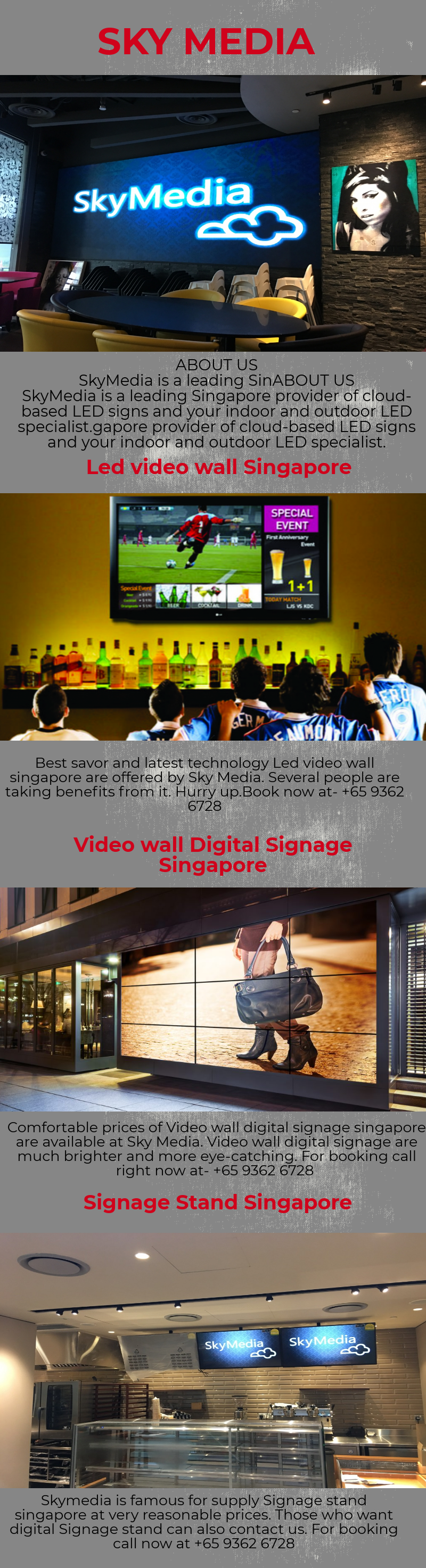 There Are Lots Of Digital Products Available In The Market But The Sky Media Provides The Best And Rich Qual Screen Stands Digital Signage Diy Screen Printing
