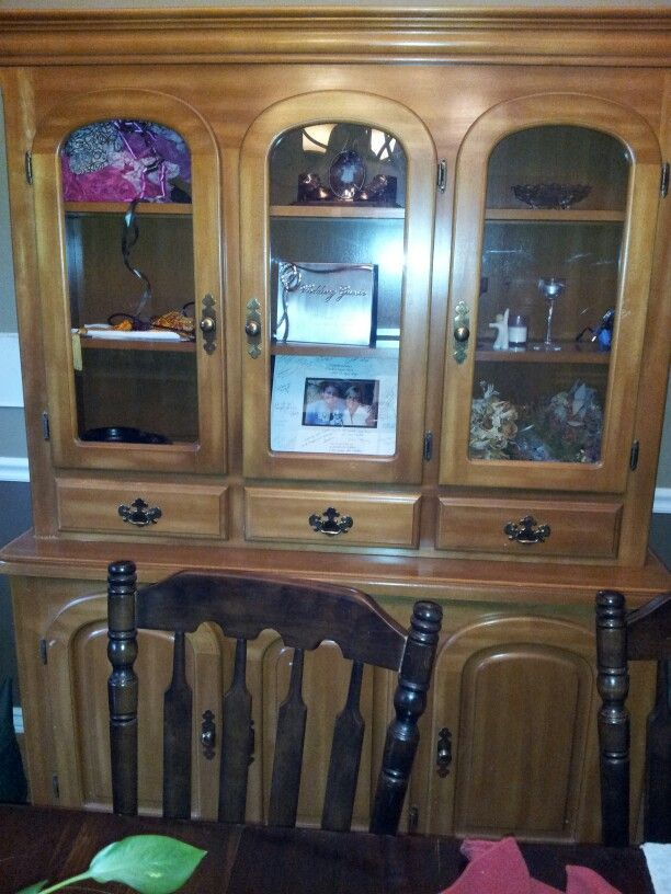 Maple Hutch for sale