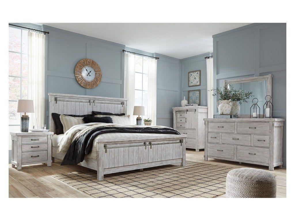 Best Signature Design By Ashley Brashlandking Bedroom Group 400 x 300