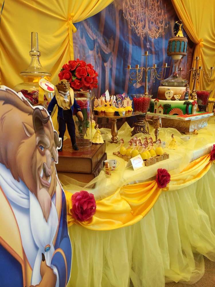 Cake Decorating Store Mesa : Beauty and the Beast Birthday Party Ideas Birthday party ...