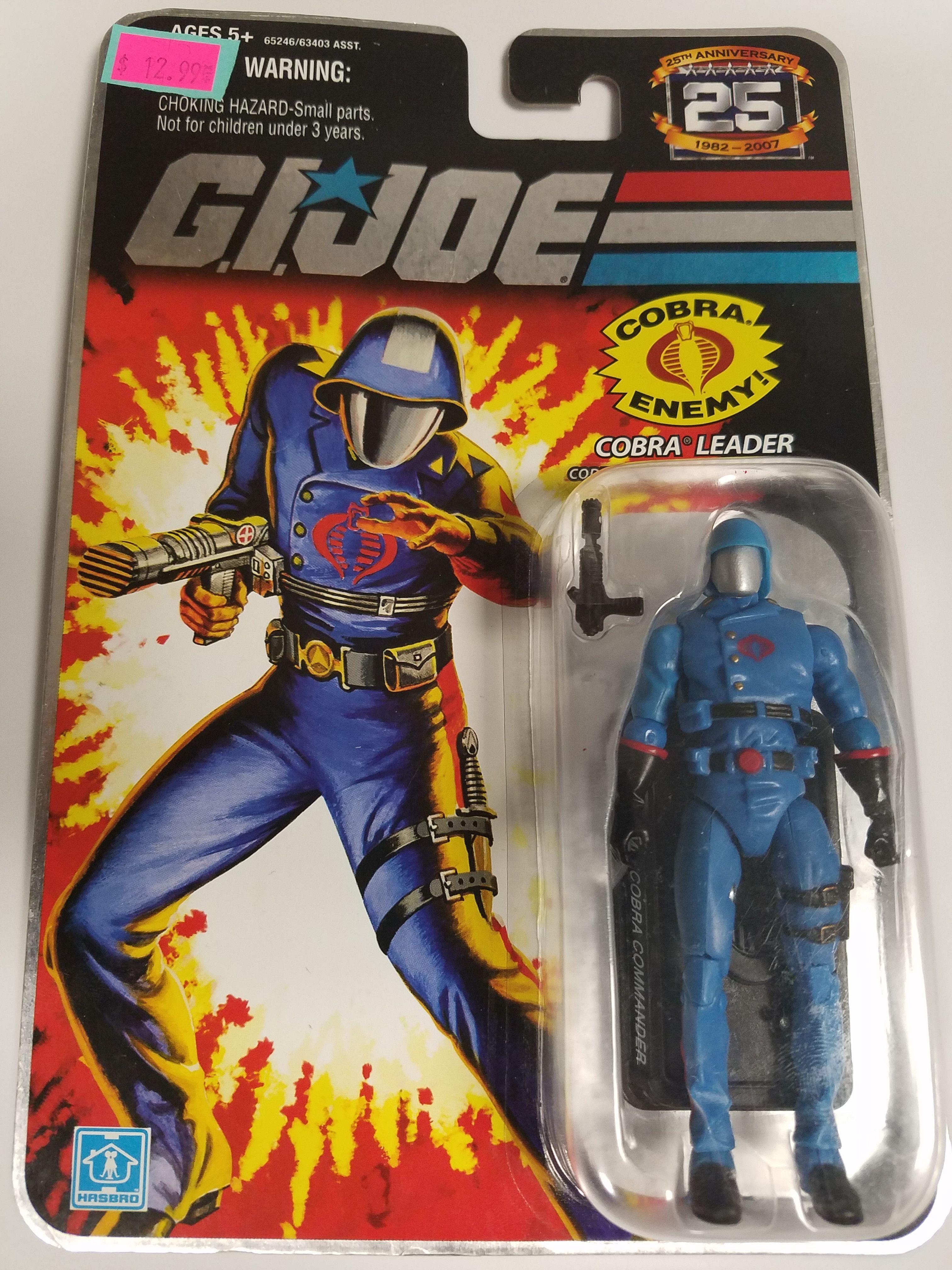 2007 GI Joe Cobra Commander Cobra Leader