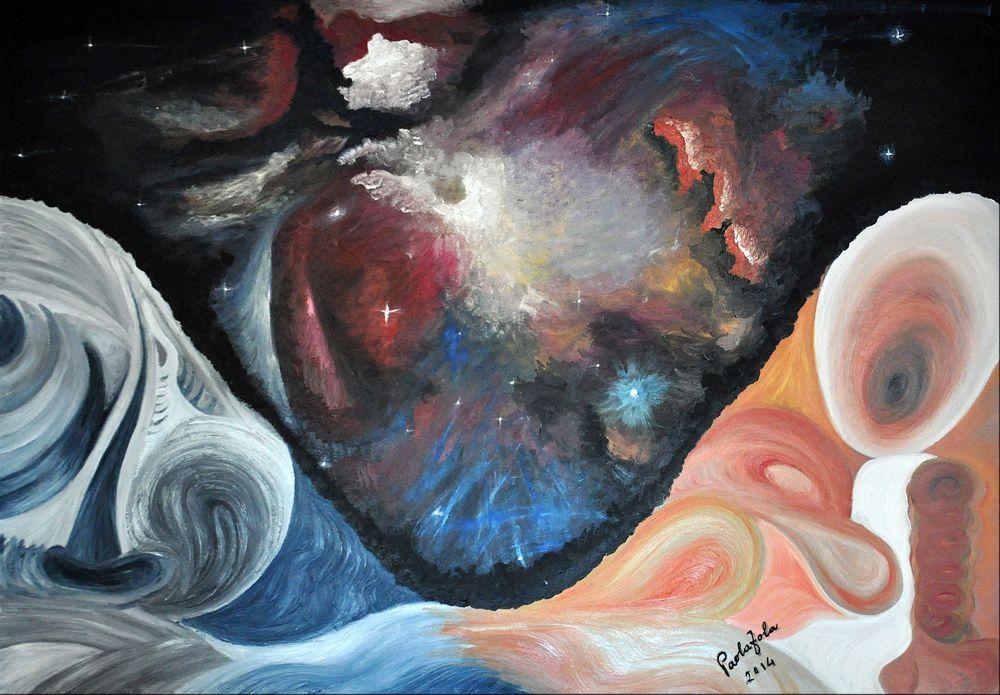 Sublimazione alias Esautorazione dell'ego 80×120 cm. olio 2014 Vote for this artwork!Please clickFacebook like,Twitter, PinterestandGoogle plus Vota questa opera!CliccaMi piacesu Facebook,Twitter, PinteresteGoogle plus Paola Zola(Ivrea– Italy),nata ad Ivrea nel 1961, ho ripreso a dipingere dopo anni di inattività. Dipingo immagini che mi compaiono alla mente improvvise o nei sogni e che, rappresentando la mia parte …