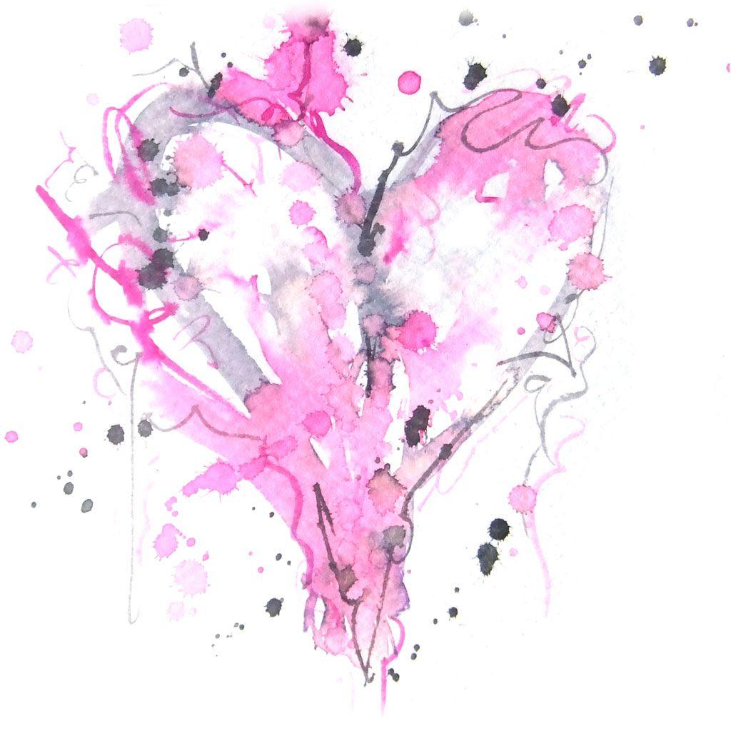 Watercolor Heart Watercolor Heart Watercolor Heart Tattoos