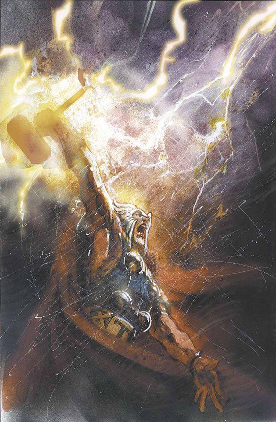 Thor #75 by Bill Sienkiewicz