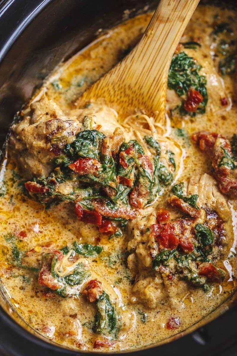 CrockPot Tuscan Garlic Chicken Recipe – How To Mak