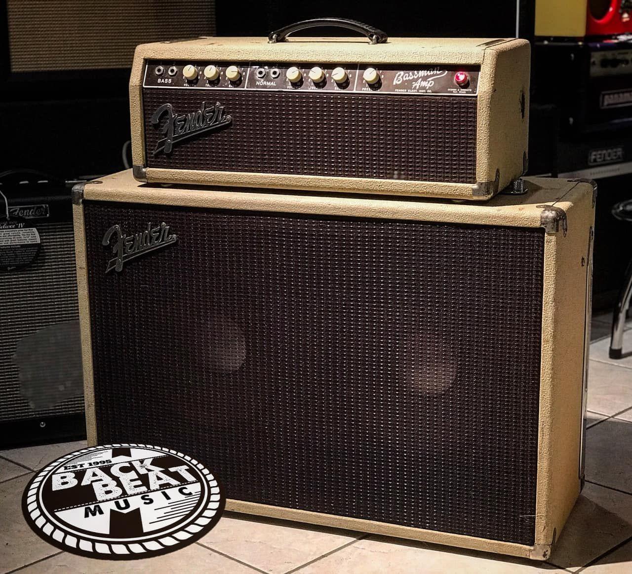 blackface fender instruments s amp bassman x vintage picker and cabinet f
