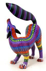 Oaxaca Animals! Mrs. Friedl and I taught this to our students!!! We made clay animals instead.