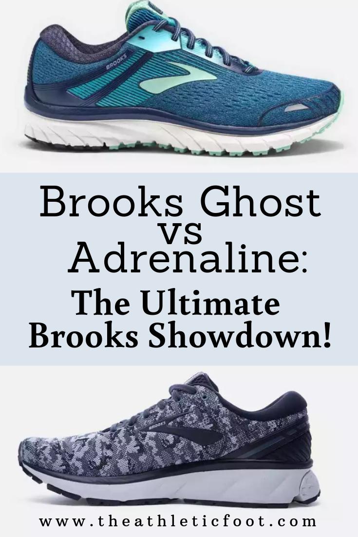 749da021c82 Brooks Ghost vs Adrenaline  The Ultimate Brooks Showdown!