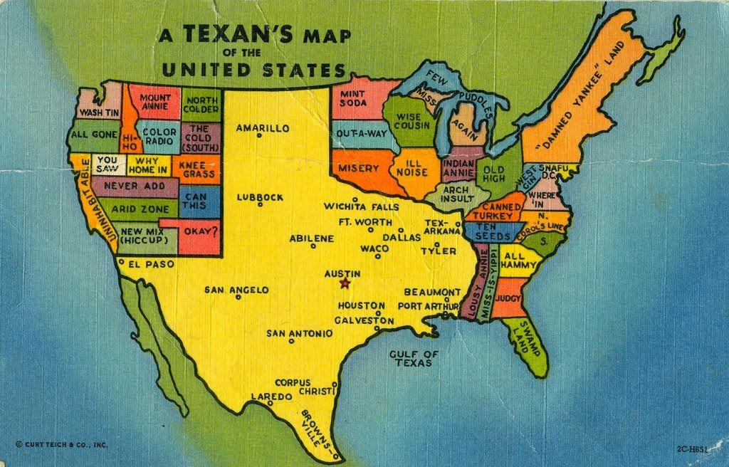 Texans Map   USA  TEXAS  Pinterest