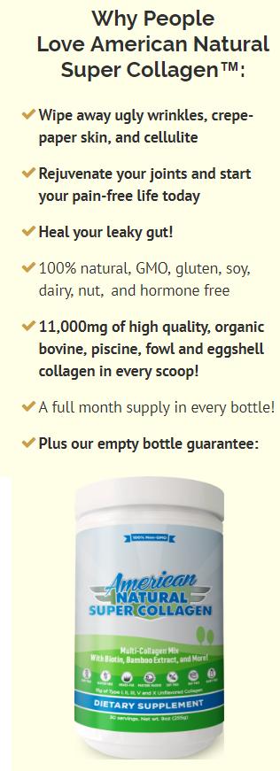 Image result for american natural super collagen