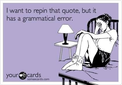 Grammatically incorrect