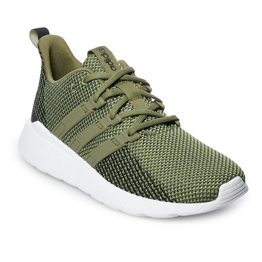 Adidas Questar Flow Men's Sneakers, Dark Green   Sneakers