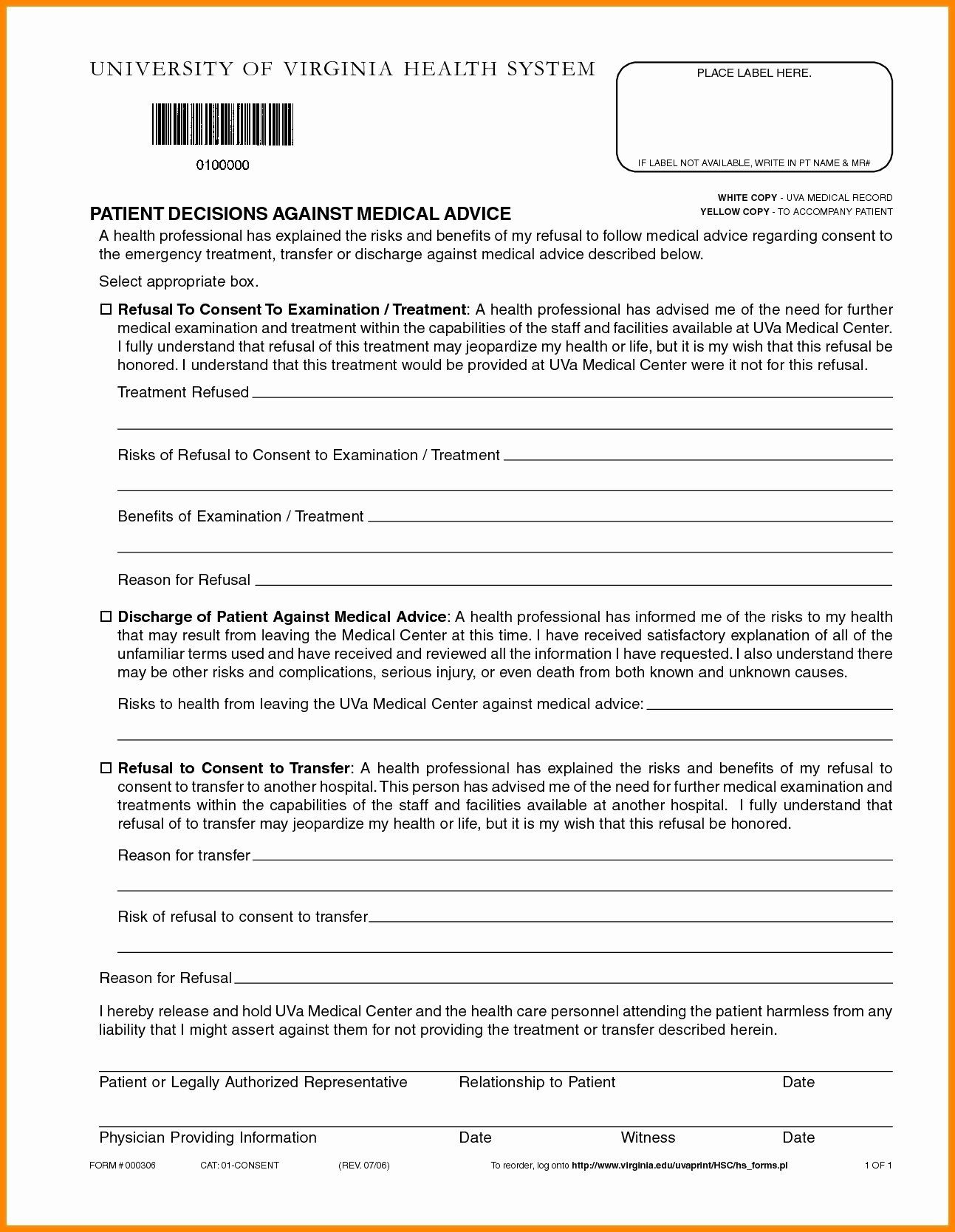 30 Fake Hospital Discharge Forms In 2020 Paper Template