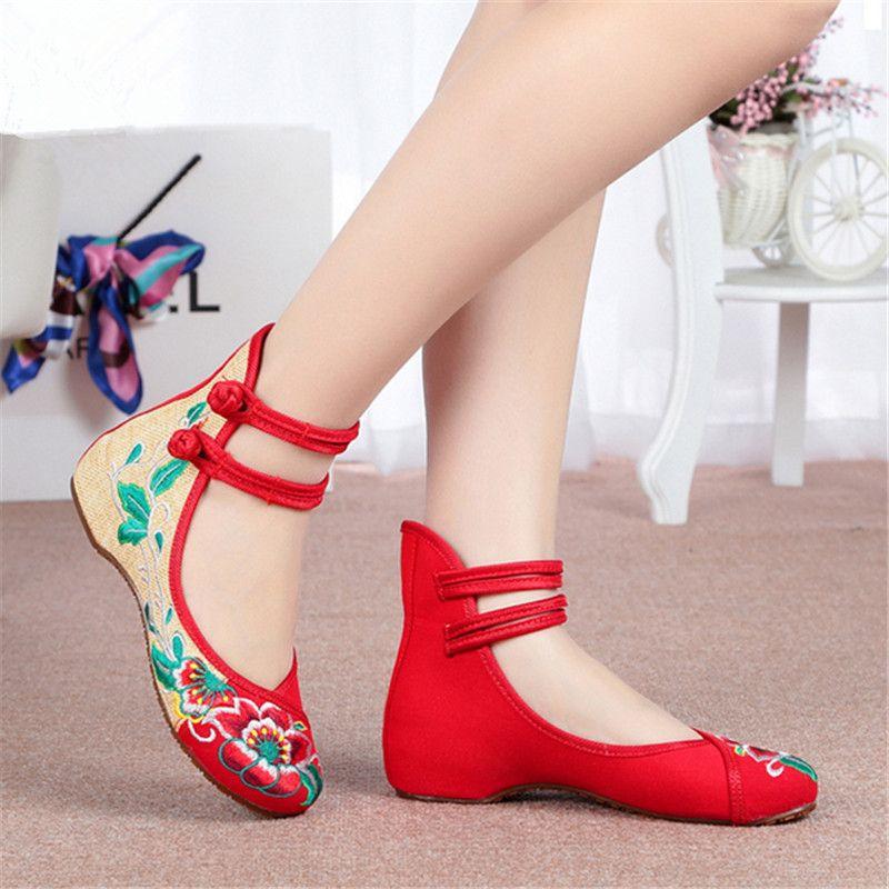 Zapatos negros étnicos para mujer Xvgln7Kka