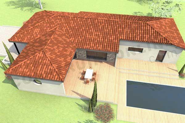 En panne d\u0027idées ? ForumConstruire vous propose 199 plans de - Plan De Maison Originale