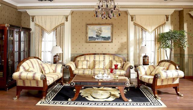 Luxury Living Room, Antique Living Room Furniture