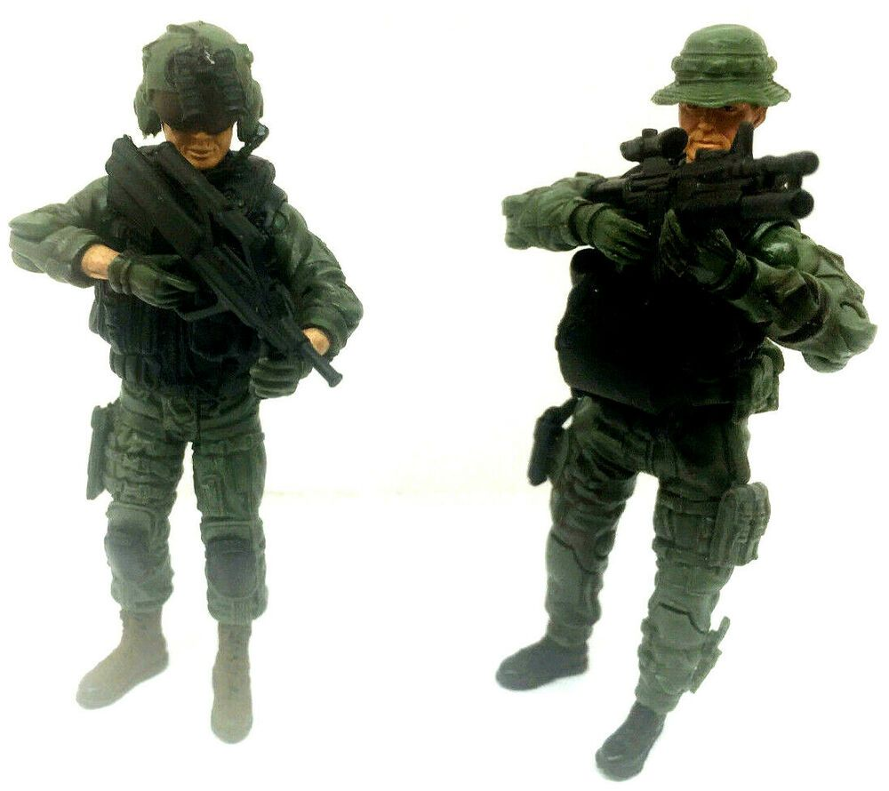 BBI Elite Force Special Forces Ops Force Figure us Pilot Army Soldier 1//18 4/""