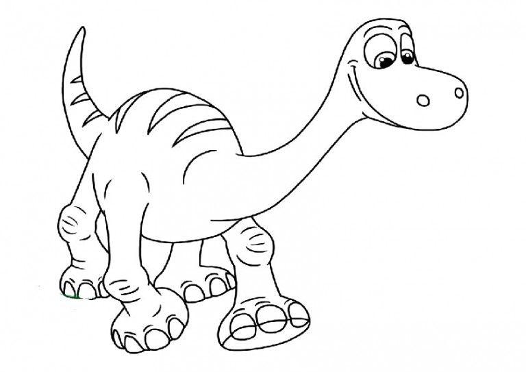ausmalbilder der gute dinosaurier25  ausmalbilder