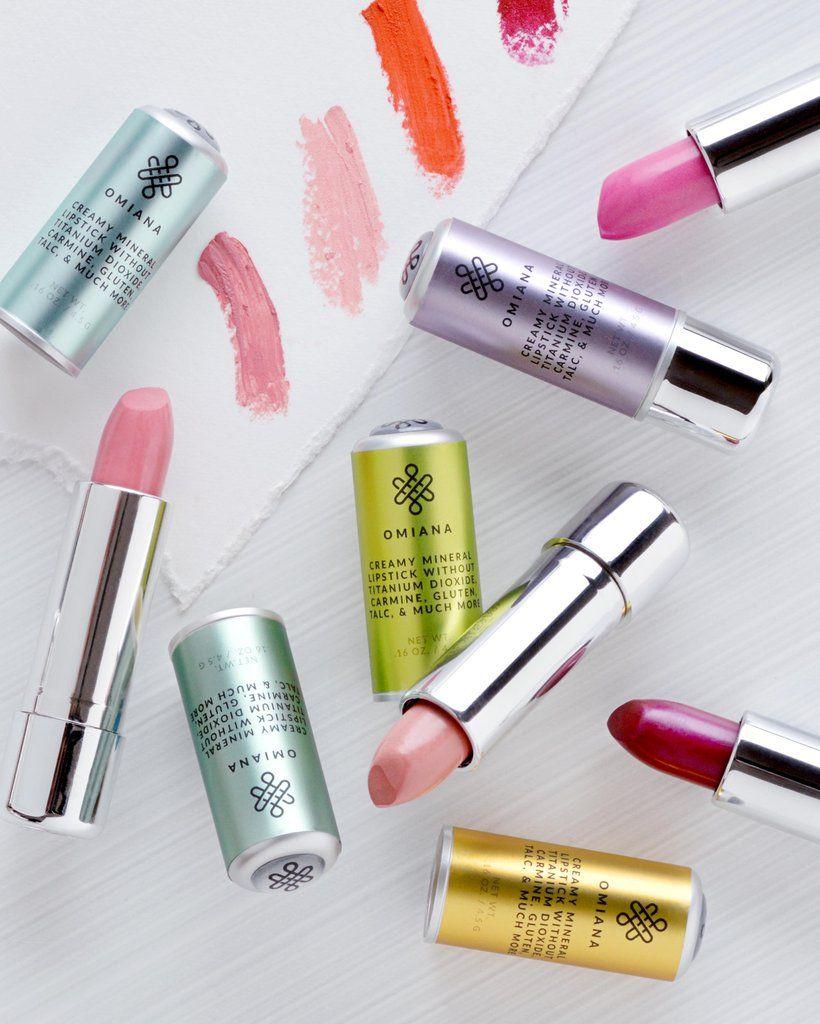 Creamy Mineral Lipstick Titanium DioxideFree with Mica