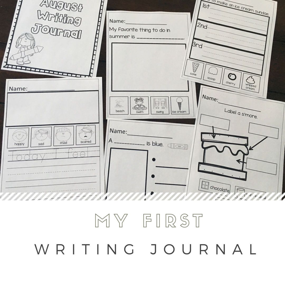 Preschool Writing Journal