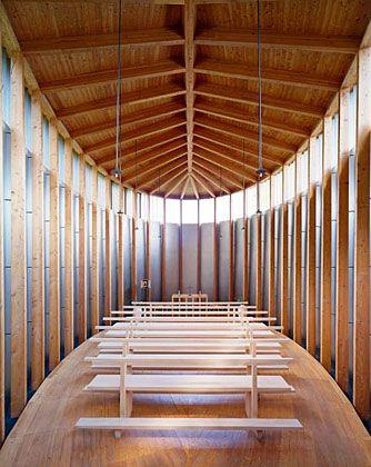 Peter Zumthor, Cappella Sogn Benedetg, Sumvitg (Svizzera