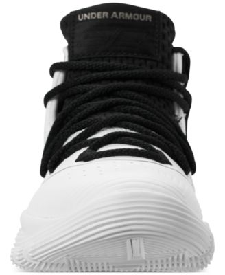7214b6d75359 Under Armour Little Boys  Curry 3Zero Ii Basketball Sneakers from Finish  Line - White 13