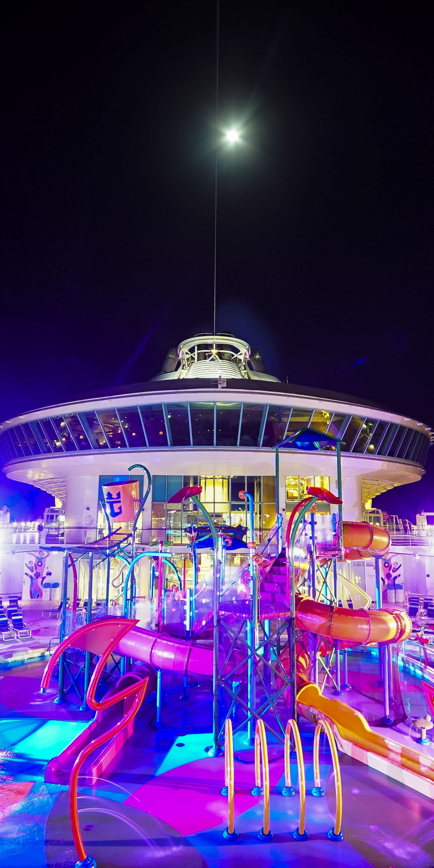 Cruise Ship Life As Entertainment Staff: This Interactive Adult-free Zone Features