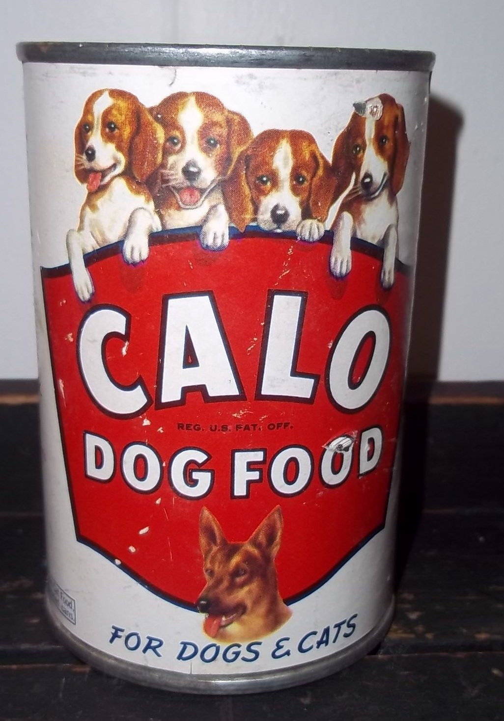 Calo dog food can paper litho for cats too dog food