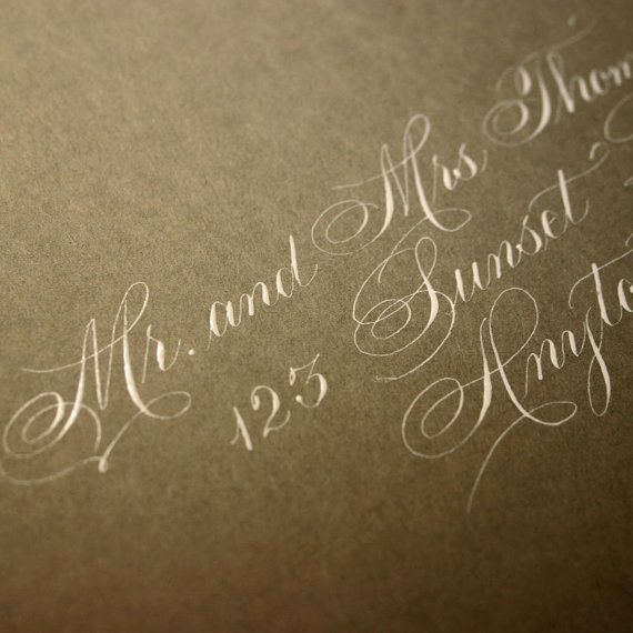 Gold on Gold Calligraphy