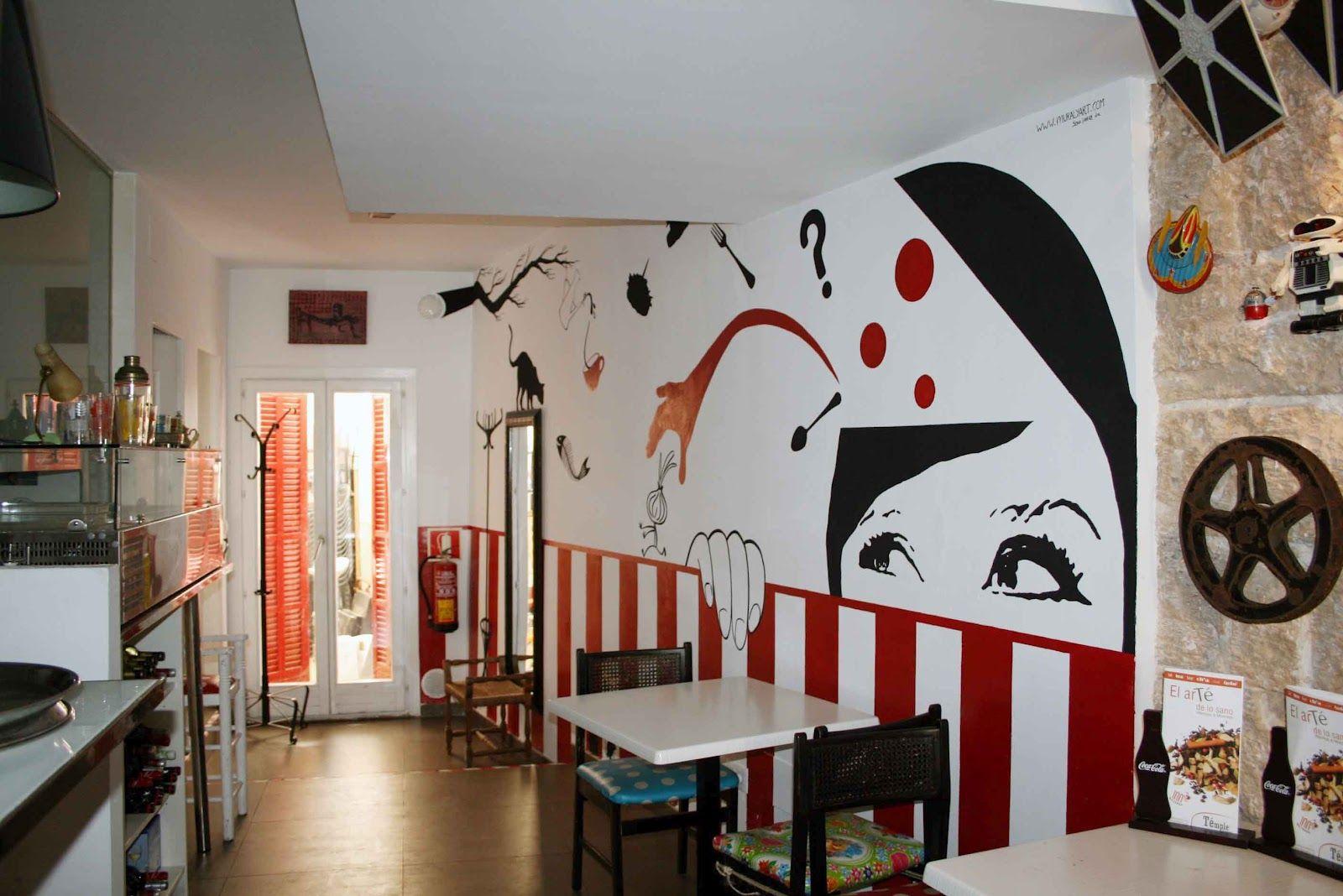 Resultado de imagen para decoracion de paredes para bares y ...