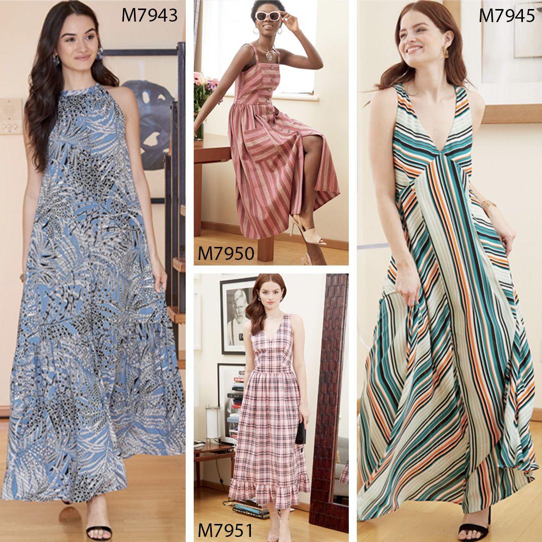 Mccall S Maxi Dress Patterns Dress Sewing Patterns Free Summer Maxi Dress Maxi Dress Pattern [ 1080 x 1080 Pixel ]