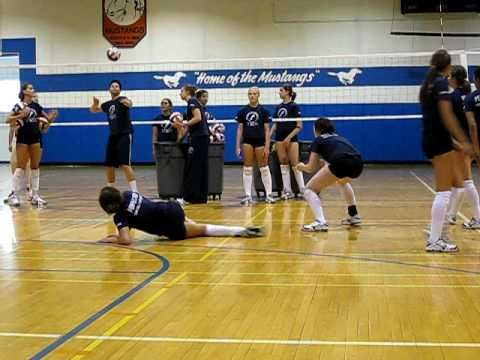 Defense Dig Side Slide Right Youtube Coaching Volleyball Volleyball Workouts Volleyball