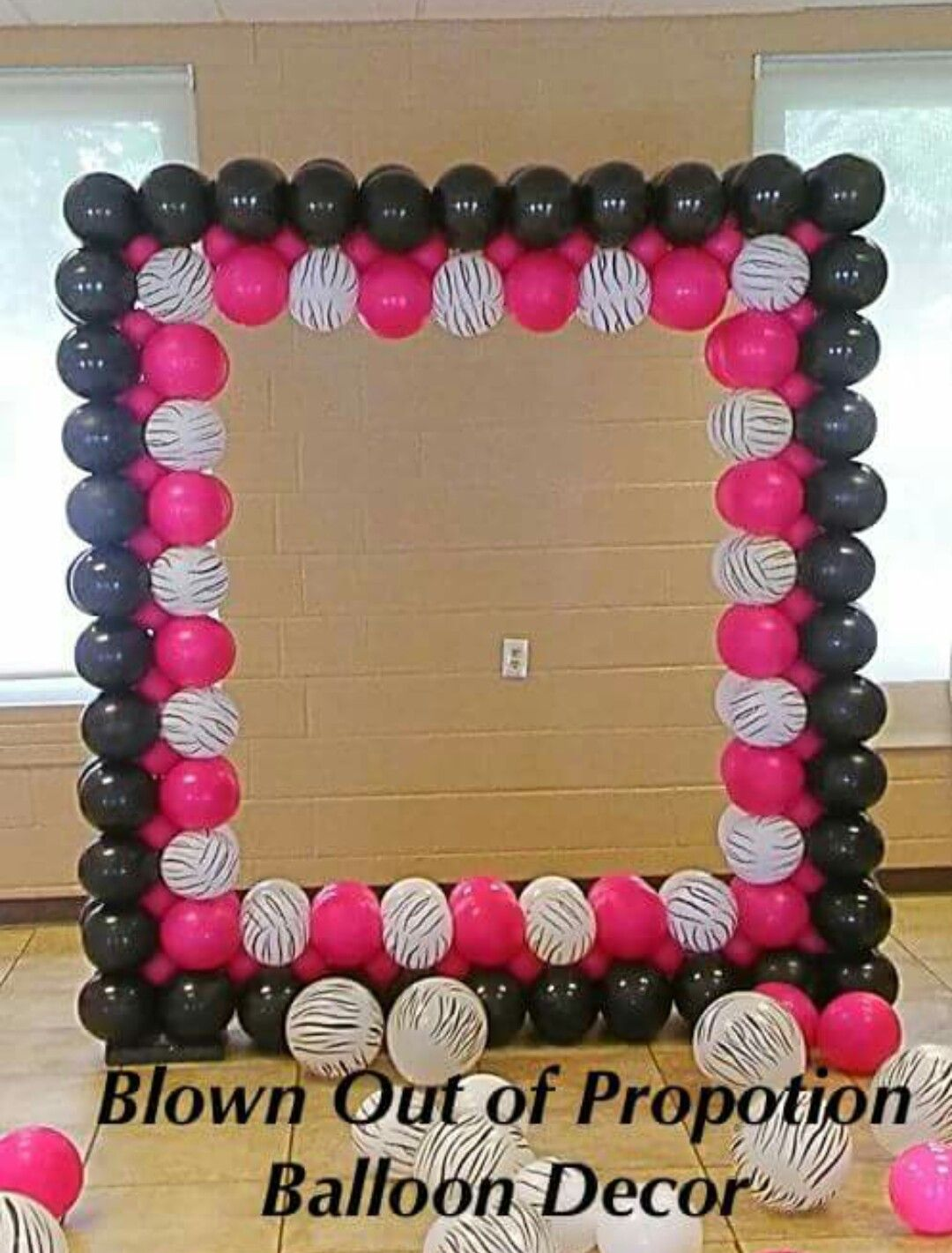 Pin by beautified creations on balloon decorations for Balloon arch frame kit party balloons decoration