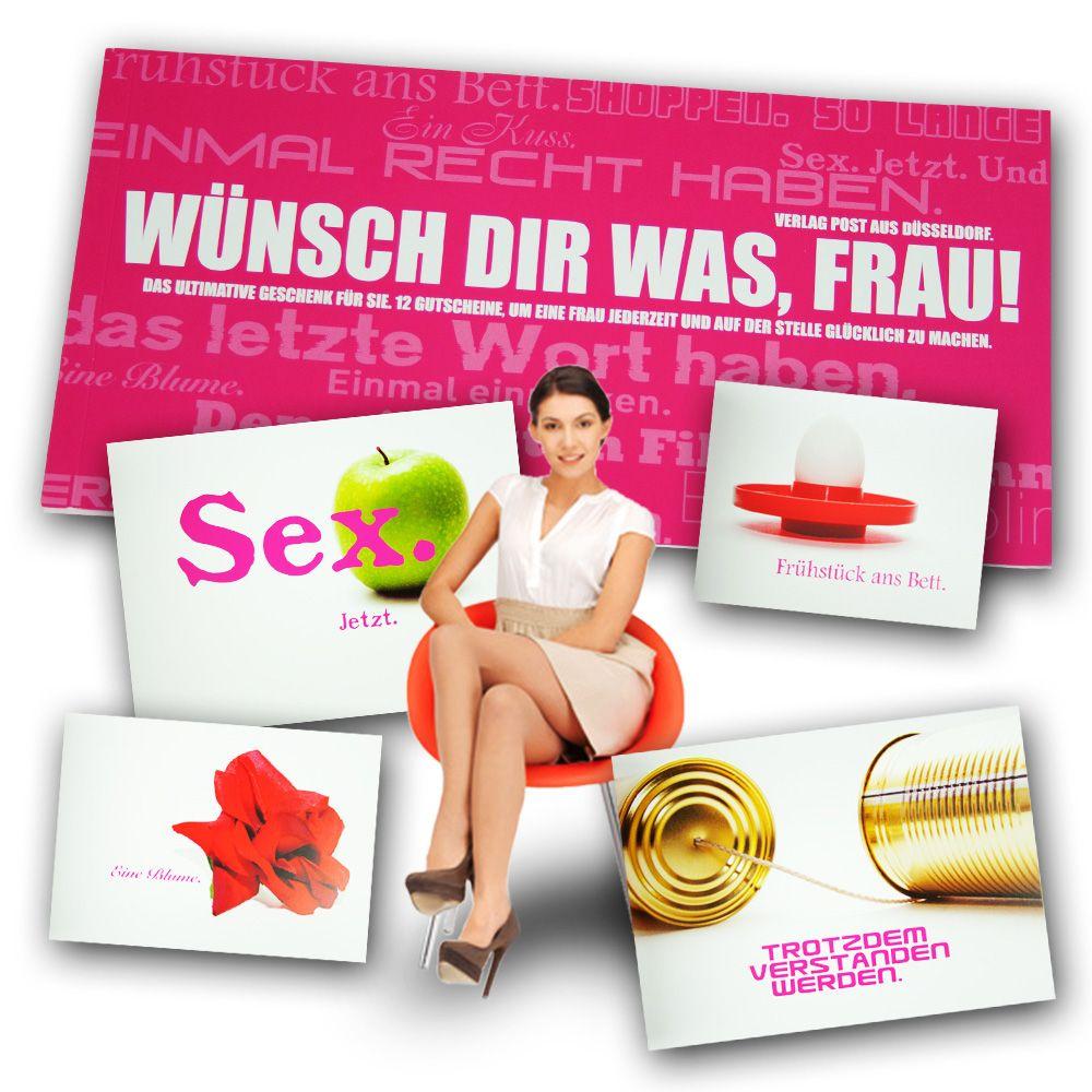 Gutscheinbuch für Frauen - Wünsch Dir was   Geschenke für frauen ...
