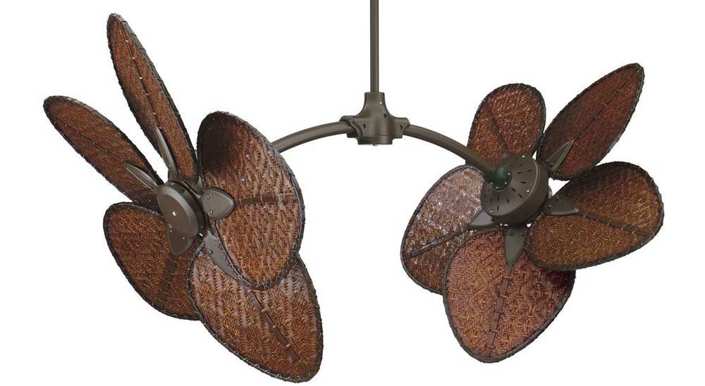 Different Unique Ceiling Fans Fp7000ob 52 Inch Dual Ceiling