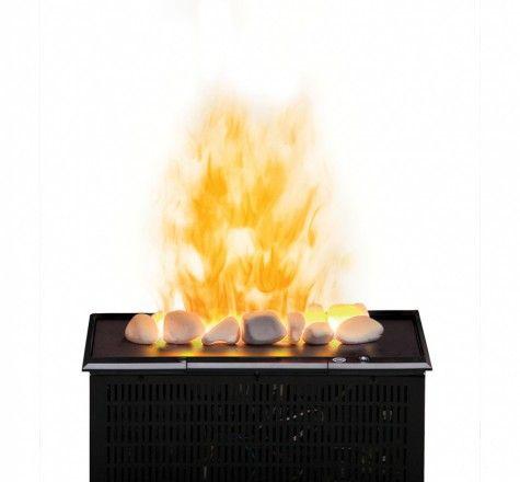 Dimplex OptiMyst Electric Fireplace Cassette Insert W/ Rocks