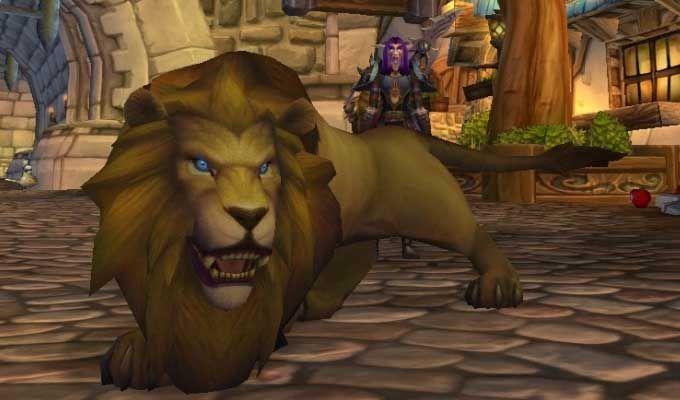 Buy Maned Lion Maned Lion For Sale Wow World World Of Warcraft Lion Sculpture