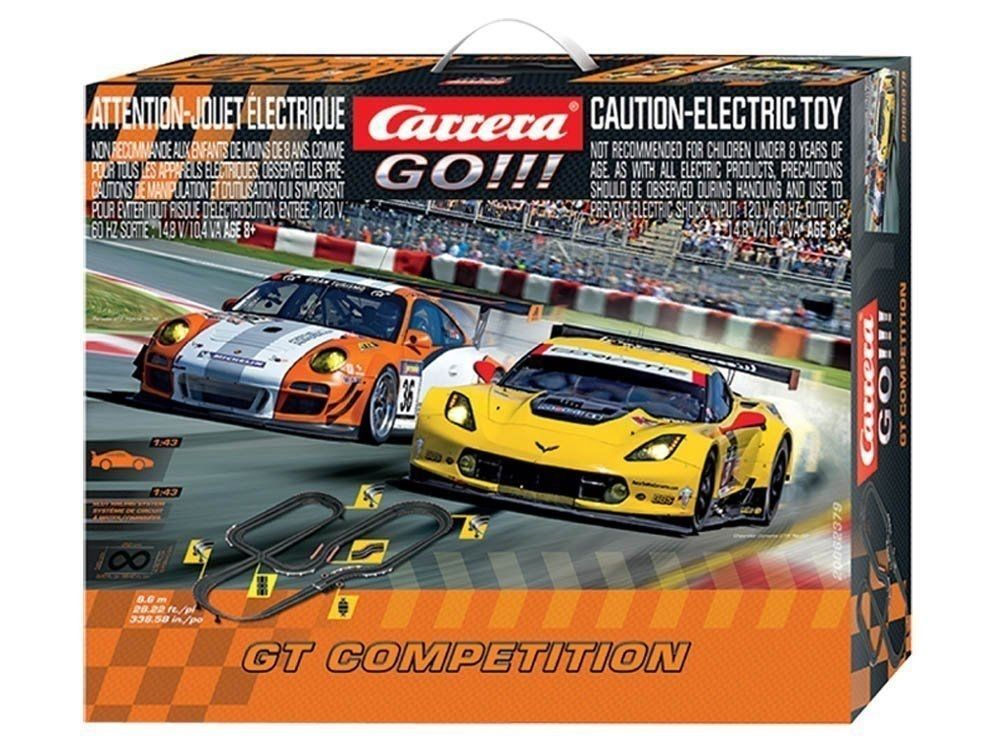 Carrera Go Gt Competition Slot Car Set 1 43 Scale Slot Car Sets Slot Cars Car Set
