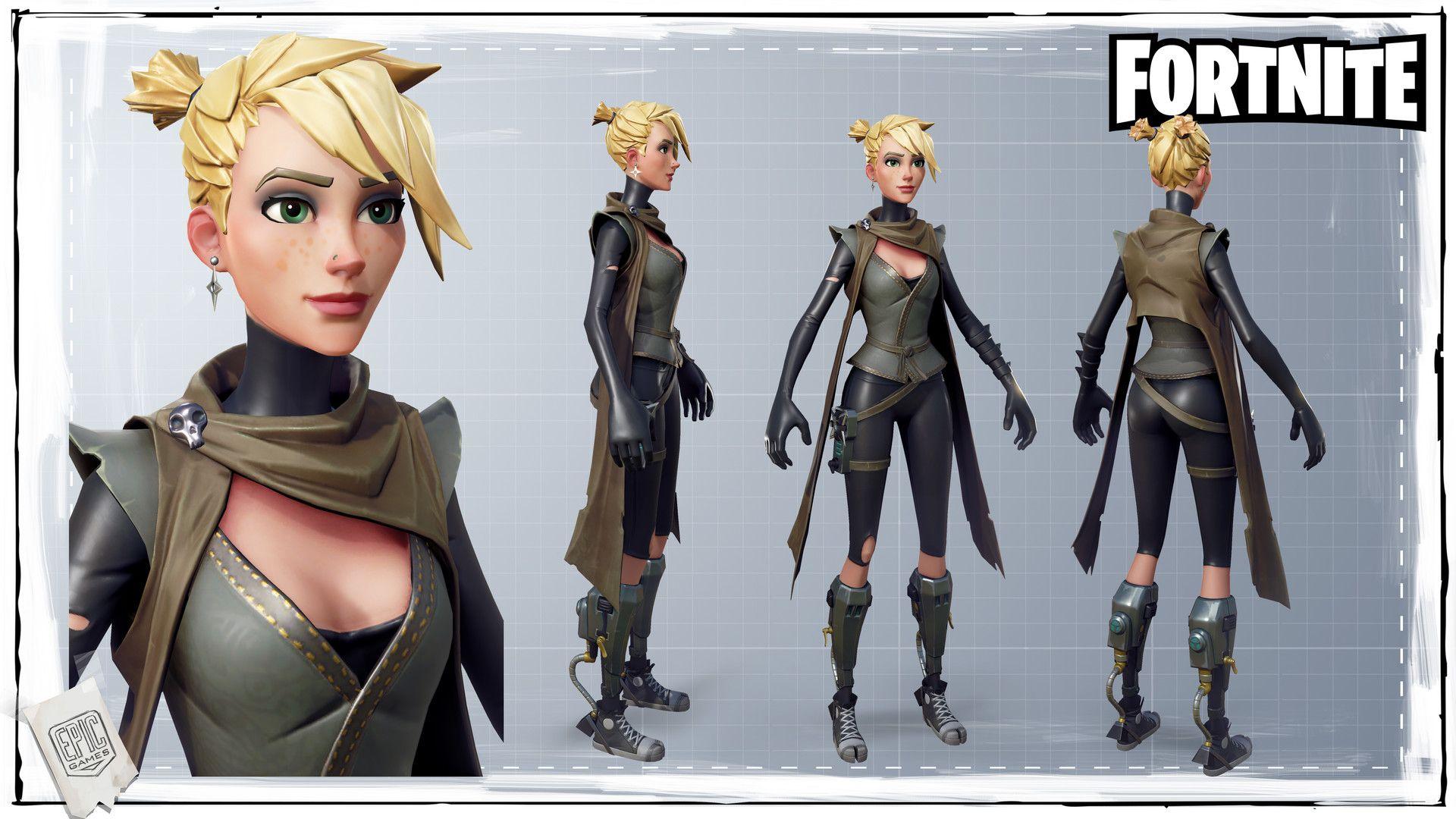 Female Character Fortnite