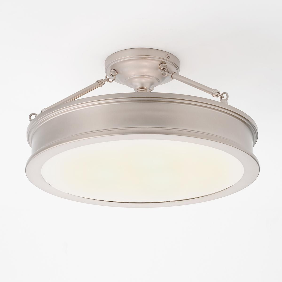 Traditional Urban Semi Flush Ceiling Light