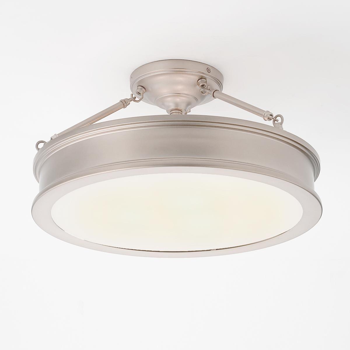 Traditional Urban Semi Flush Ceiling Light In 2020 Semi Flush