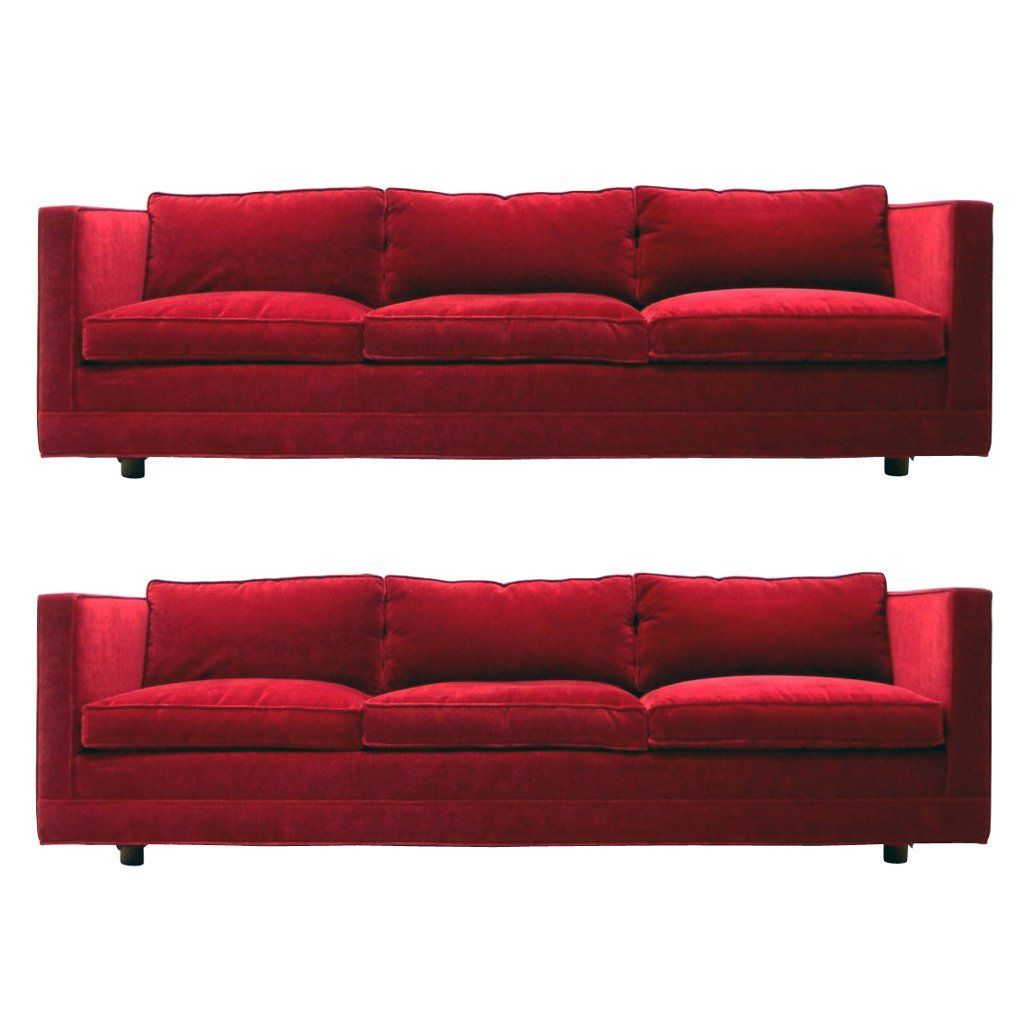 Sofa Sale Harveys Pair Of Harvey Probber Even Arm