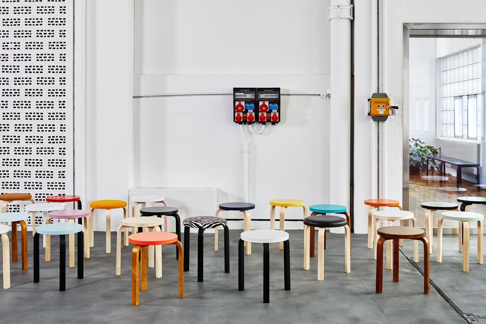 The 12 Best Places To Find Scandinavian Design Stool Design Scandinavian Design Artek