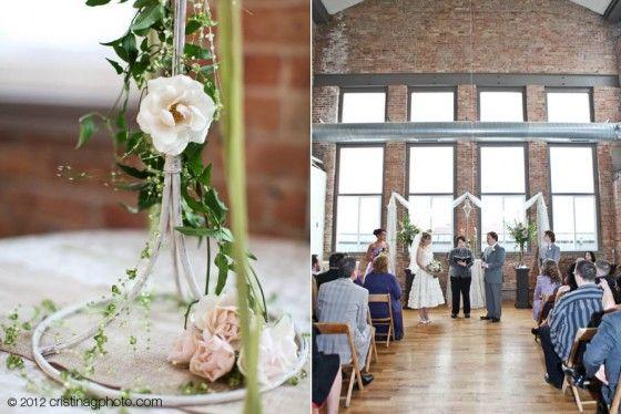 Hitched Heather David S Kitchen Chicago Wedding Sweetchic Events Inc Wedding Chicago Wedding Eclectic Wedding