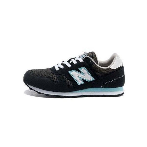 new balance 373 black and blue
