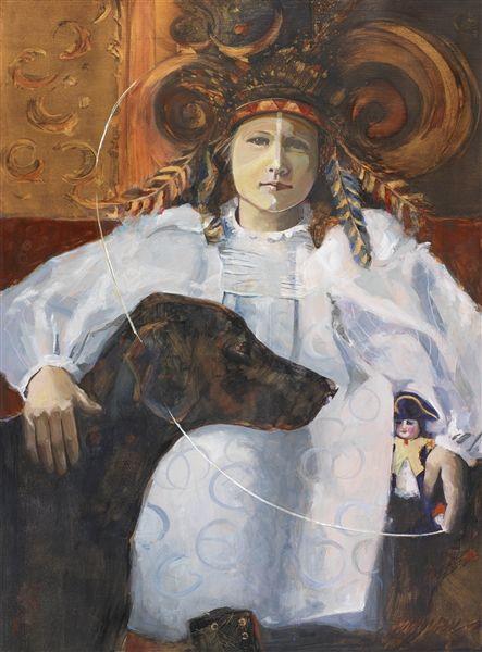 Florida Watercolor Society Susan Hanssen Dog Art Watercolor