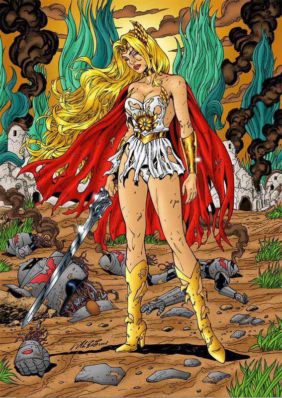 She Ra Comic Books